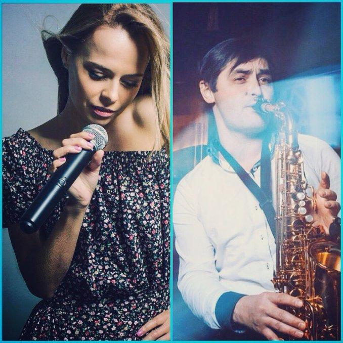Дуэт Voxx / саксофонист и певица