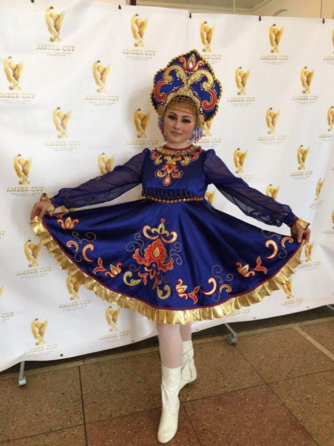 Солистка Калининграда с танцами народов мира!