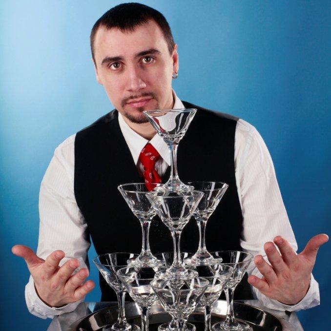 Профессиональное бармен-шоу - Шоу-проект Человек-БАР