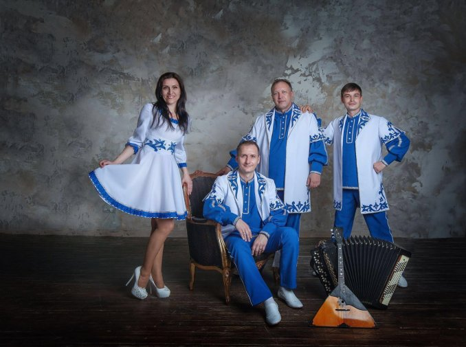 Folk шоу группа БАРИН