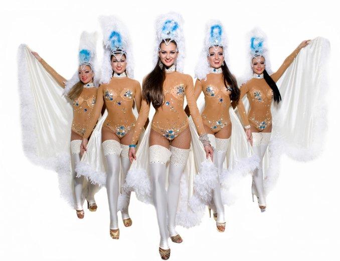 """шоу балет """"Rus Vegas"""""""
