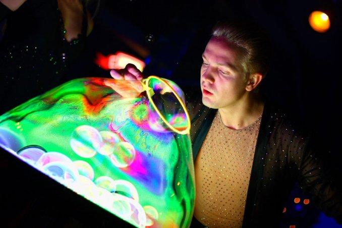 Шоу Мыльных Пузырей Bubble Fantasy