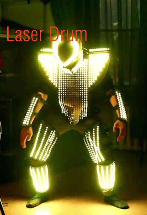Шоу барабанов Laser drum
