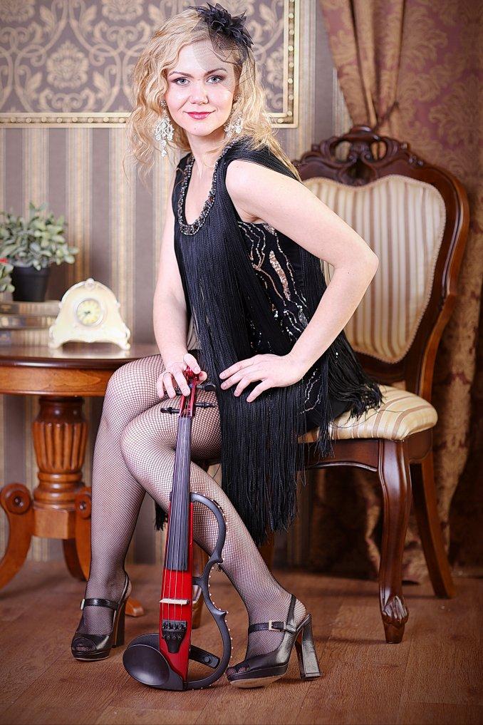 Ольга Тарасова и ее скрипка Viva Solo