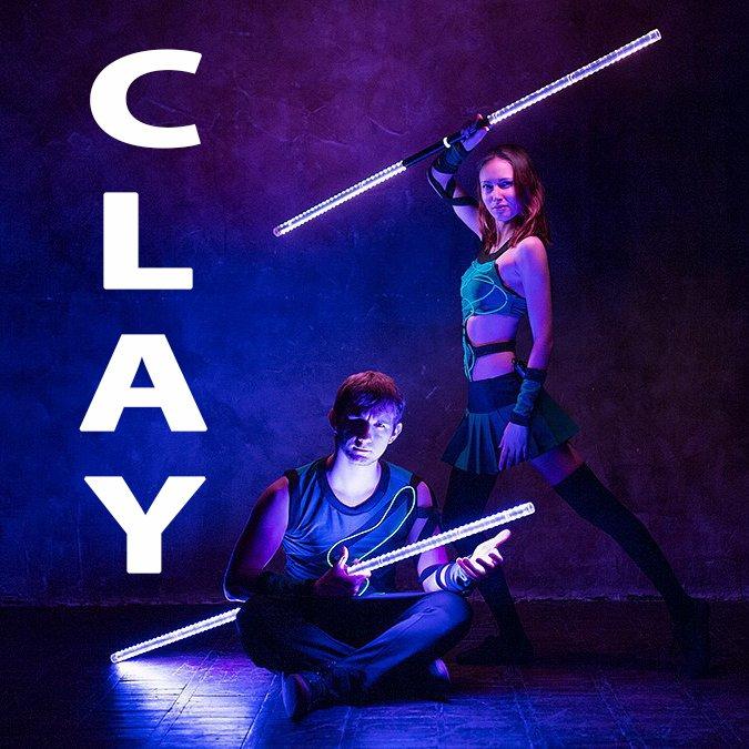 Огненное и световое шоу театра огня и света «CLAY»