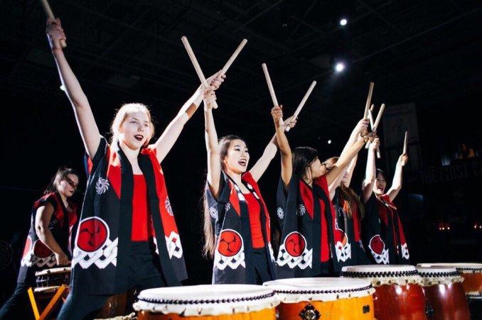 """Японские барабанщики """"TAIKO IN-SPIRATION"""""""