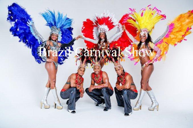 Бразильское шоу Brazil Carnival Latino Show