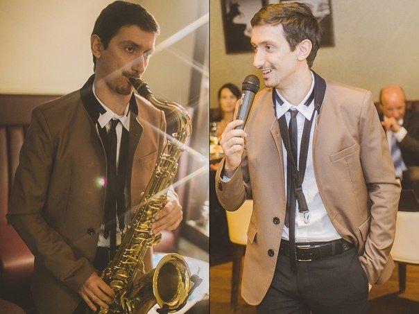 Ведущий и саксофонист Давид Сафарян