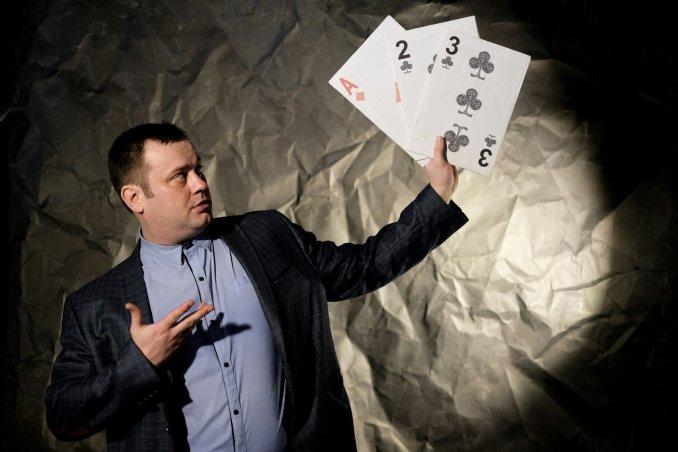 Magician-Charismat Vitaly Tokunov