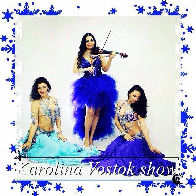 «KAROLINA violin vostok show» - одно из самых красивых и ярких шоу Москвы!
