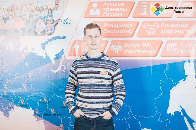 Stage hypnotist and mentalist Dmitry Tulupov