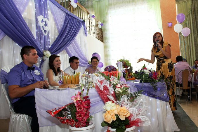 Professional organization of weddings and celebrations