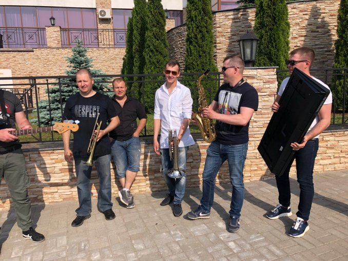 Кавер группа Gagarin Band