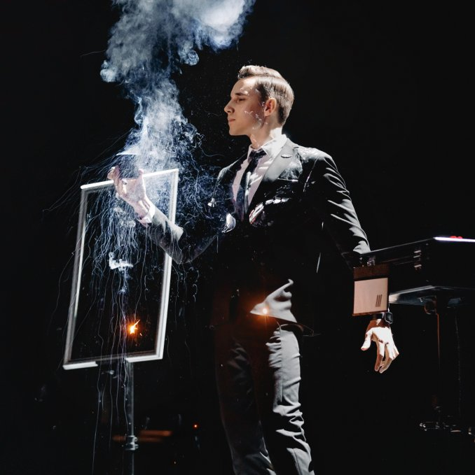 Sergey Golub, illusionist and magician