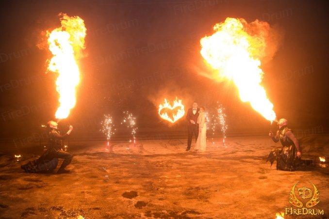 Огненное и световое шоу FireDrum