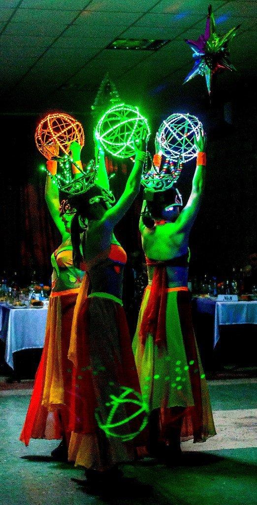 Танцевально-световое шоу LUXURY