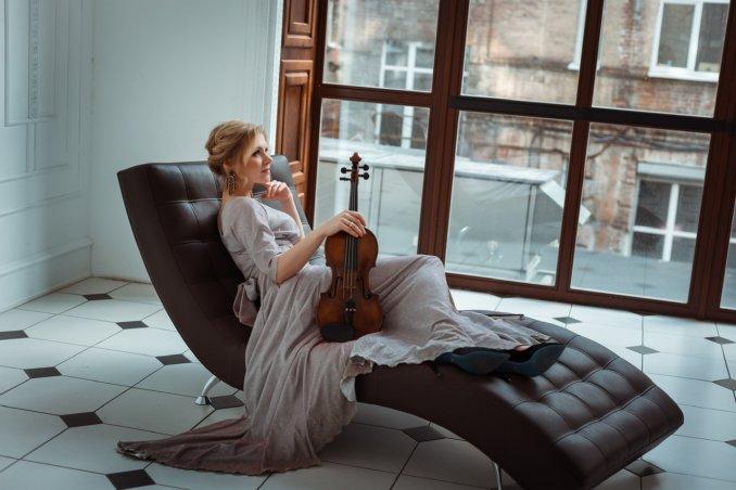 Скрипачка Еlena Grits