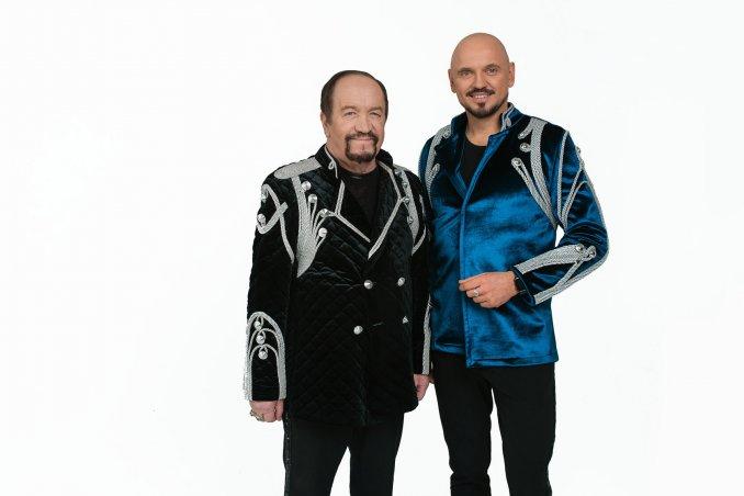 Леонид Борткевич и Андрей Еронин