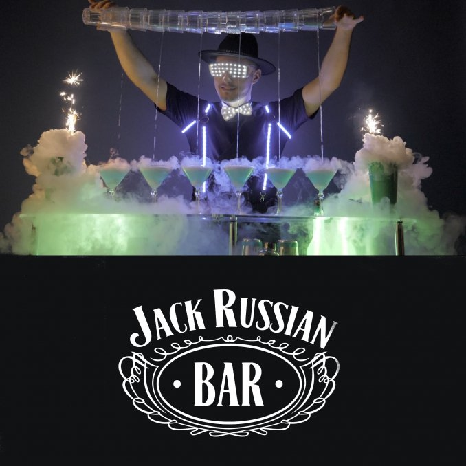 Бармен-шоу JACK RUSSIAN BAR