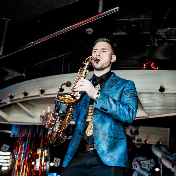 Saxophone musician Artur Bedikyan