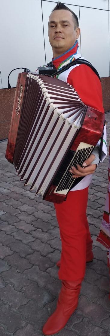Mikhail Kulakov. Bayan-accordion show.
